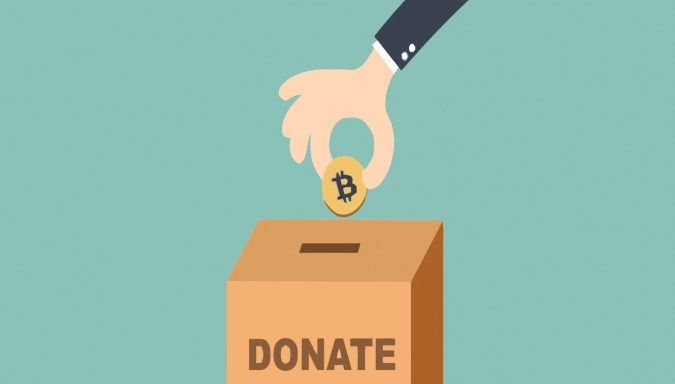 the true story behind a 1m donation in bitcoin